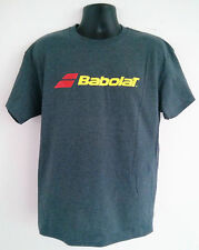 Babolat Tennis T-Shirt Cotton/Polyester CHARCOAL X-LARGE