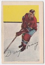 Doug Harvey 1952/ '53 Parkhurst #14 - Montreal Canadiens