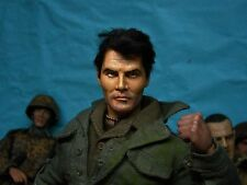 "1/6 Scale Custom WWII US ""JACK PALANCE"" FROM MOVIE ""ATTACK"" OOAK 12"" DOLL FIGURE"