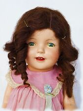 "GORGEOUS!!! HARD TO FIND Vintage 1926 BIG Composition Mama Doll 24"" FIBEROID"