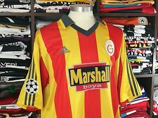 GALATASARAY home 1999/00 shirt - HAGI #10-Romania-Barcelona-Turkey-Adidas-Jersey