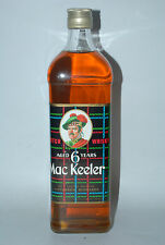 WHISKY MAC KEELER 6 YEARS OLD  SCOTCH WHISKY AÑOS 70/80 75cl.