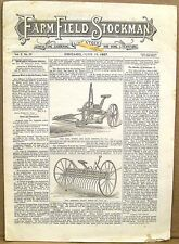 Farm, Field and Stockman Magazine  June 1887   Farm Life and Equipment