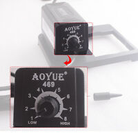 220V AOYUE 469 ESD Adjustable Mini Soldering Station Electric Soldering Iron