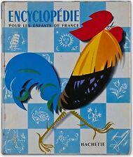 ENCYCLOPÉDIE DES ENFANTS DE FRANCE 1954, HACHETTE, ILLUSTRÉ : PROBST, TROJA ...