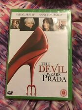 The Devil Wears Prada (DVD, 2007)- NEW AND SEALED ( GREEN CASE)- Region 2