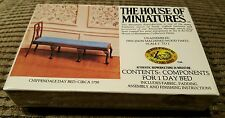 The House of Miniatures 1:12 Scale Chippendale Day Bed #40043 Brand New Sealed