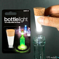 USB Rechargeable Wine Bottle Light - LED Cork Shape - BBQ, Beach Parties