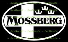 Mossberg Firearms - Hunting/Outdoor Sports - Vinyl Die-Cut Peel N' Stick Decals