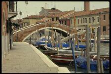 079062 Canal au coeur de la ville de murano A4 papier photo