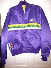 Vintage Starter Utah Jazz Satin Jacket