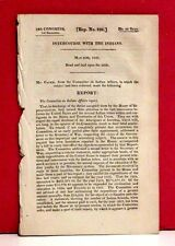 House of Representatives Report - Intercourse with the Indians - 1826