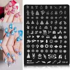 Nail Art Image Printing Plate Polish Stamping Template DIY Tips Design