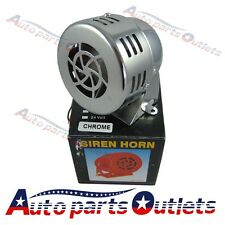 12V Electric Car Truck Motorcycle Driven Air Raid Siren Horn Loud 50s chorm
