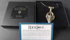 RockLove Skyrim Amulet of Kynareth Necklace Bethesda OFFICIAL LIMITED EDITION
