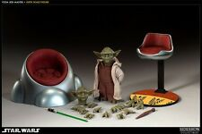 Sideshow Collectibles Star Wars Yoda 1/6 Escala de gastos de envío gratis para UK No Hot Toys
