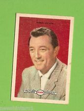 #D160. 1958-64  ATLANTIC PETROLEUM FILM STARS CARD #22  ROBERT MITCHUM