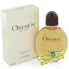 CK Obsession for Men by Calvin Klein 4.0 oz EDT New In Box 118ml Spray