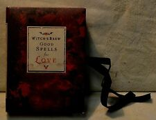 Witch's Brew Good Spells for Love Relationships Wicca Magic Witchcraft Mini Book