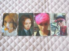 M&D 1st Mini Album I Wish Photocard Full Set Super Junior Heechul TRAX Jungmo