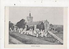 Niton Church IOW Postcard 745a