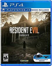 RESIDENT EVIL VII BIOHAZARD PLAYSTATION 4 PS4 VIDEO GAME NEW FACTORY SEALED