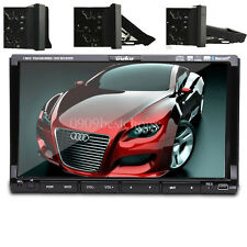 "Samsung Core Double 2Din 7""Car Stereo Radio DVD Player iPod Bluetooth TV MP3 Mic"