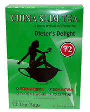China Slim Tea Dieter's Delight 72 Bags for Men & Women