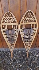 "GREAT OLD Snowshoes 42"" long x 13"" wide   Ready To Hang for Decoration"