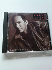 Paul Anka ~ SOMEBODY LOVES YOU ~ cd 1989 (David Foster Toto.Dionne Warwick)