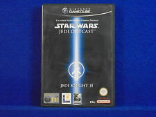 gamecube STAR WARS JEDI KNIGHT II 2 Jedi Outcast MINT DISC Nintendo PAL