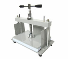 A4 Size Manual Flat Paper Press Machine for Nipping Vouchers, Books, Invoices E