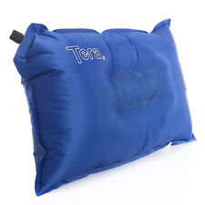 Bluefield Self-inflatable Air Pillow Cushion for Travel Hiking Camping Rest Blue