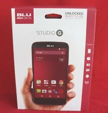 BLU Studio G - Unlocked - Black Smartphone !Rare! *New*
