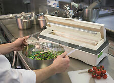 """Wrapmaster 18"""" Duo Dispenser Food Storage Holds Clingfilm & Foil Catering"""