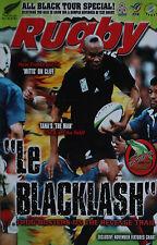 NZ RUGBY NEWS 31-36, Nov 2000 All Blacks Tour Special, Jonah Lomu, Wayne Smith