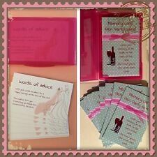 Two Fun Hen Night Party Games - Words Of Advice And Memory Lane - Discount Rate