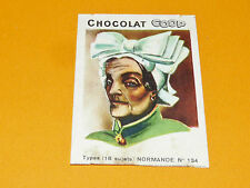 CHROMO CHOCOLATS COOP 1932 TYPES NORMANDE NORMANDIE