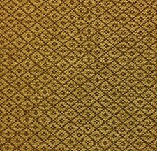 "RICHLOOM HENDRIX GOLDEN BEIGE DIAMOND JACQUARD FURNITURE FABRIC BY THE YARD 58""W"