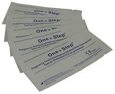 ONE STEP ® 25 x Test di Gravidanza KIT 10mIU HOME urina test strips
