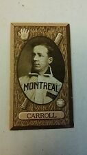 Rare 1912 C46 Imperial Tobacco #39 shadow Dick Carroll vgex montreal
