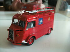 "Altaya Citroen H ""Service Incendie"" in Red on 1:43"