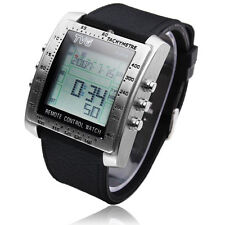 TV/DVD Remote Control Watch Stainless Steel Multifunction Digital FREE TRACKING