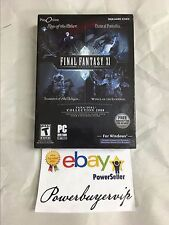 NEW FINAL FANTASY XI VANA'DIEL COLLECTION 2008 FOR WINDOWS 2 DAY GET