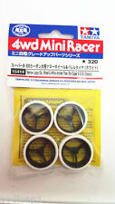 TAMIYA MINI 4WD Trimmed Low Profile Thin Tires 1.5mm+Large Dia Wheels 15414