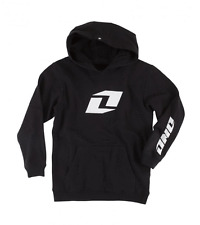 NOS  ONE INDUSTRIES ICON YOUTH HOODIE PULLOVER BLACK  LARGE  MOTORCYCLE MOT