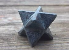 NATURAL HEMATITE GEMSTONE MERKABA STAR (ONE) - BUY IT NOW