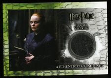 Harry Potter Heroes & Villains ALECTO CARROW Costume Card C6 #008/480