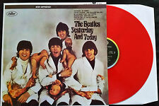 The Beatles - Yesterday And Today - Butcher Cover - Red Vinyl LP - New/Mint