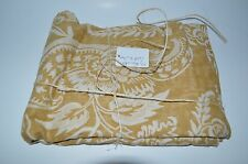 Pottery Barn Alessandra Gold King Sham #276